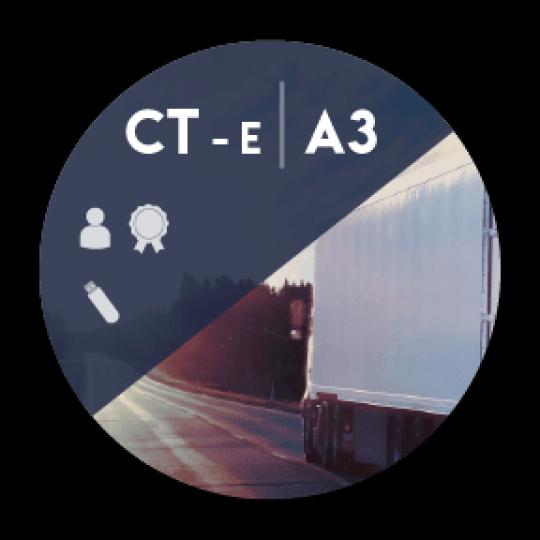 Certificado Digital para Transportadoras A3 em token (CT-e A3)