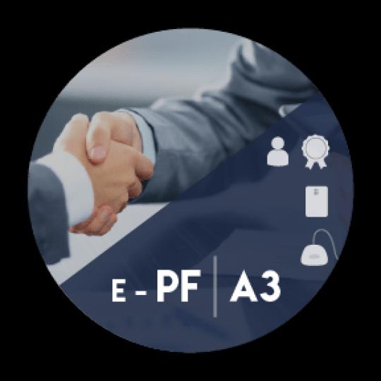 Certificado Digital para Pessoa Física A3 em cartão + leitora (e-PF A3)