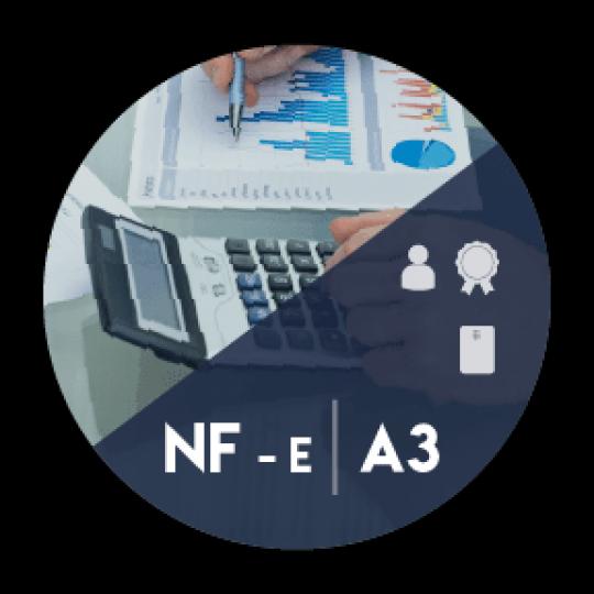 Certificado Digital para Nota Fiscal Eletrônica A3 em cartão (NF-e A3)